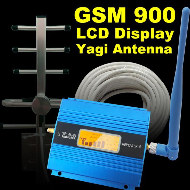 液晶ディスプレイのgsm 900 mhz携帯電話携帯信号ブースターgsm 900信号リピータ携帯電話アンプアンテナセット用ホーム