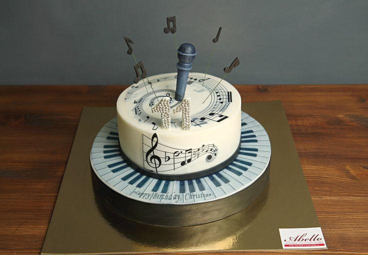 """Торт """"Микрофон - 2""""  Для близкого друга – музыканта можно приготовить сладкий подарок, например, торт с микрофоном, или же с другой атрибутикой, ведь самыми необычными и уникальными являются подарки ручной работы, а они также могут быть и съедобными, например, в виде торта   Команда Кондитерской Абелло с радостью изготовит #тортмикрофон весом от 2-х кг всего за 2350₽/кг.  Специалисты #Абелло готовы помочь с выбором красивого и качественного десерта по любому поводу по единому номеру…"""