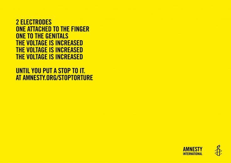 Amnesty International: Poems of Horror