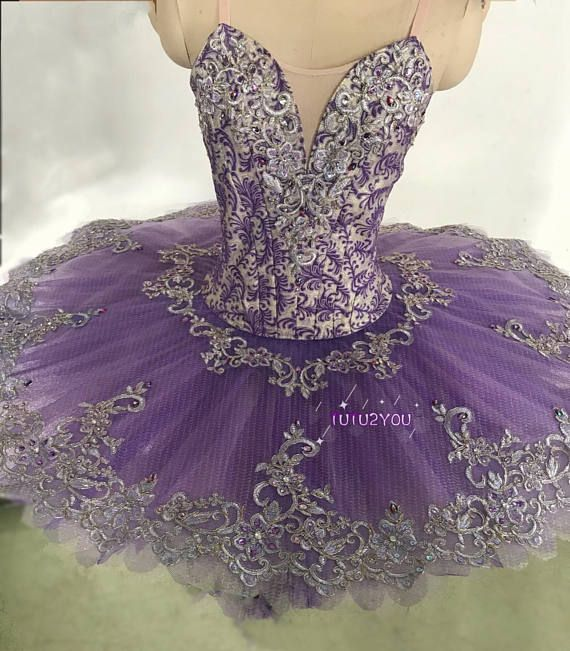 P-009 Professional Ballet Tutu Purple