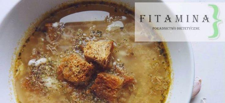 Przepis na rozgrzewającą zupę czosnkową