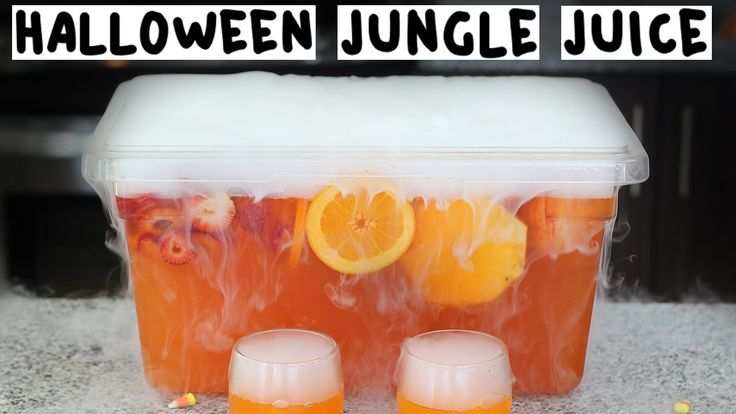 The Ultimate Halloween Jungle Juice - Tipsy Bartender