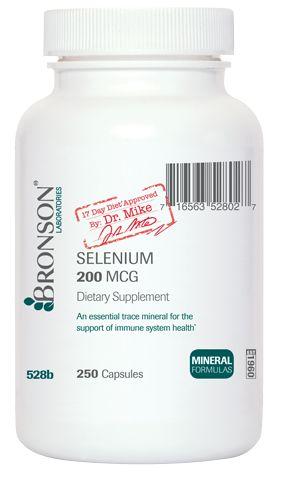 17 Day Diet Selenium 200 mcg
