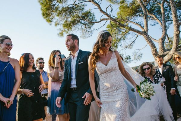 Destination wedding in Eros island Greece | Athina & Ilias See more on Love4Wed http://www.love4wed.com/destination-wedding-greece-eros/