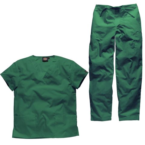 Yes! Hunter green remains the most popular colour for staff looking for vet nurse scrubs, veterinary uniforms and vet tech scrubs.