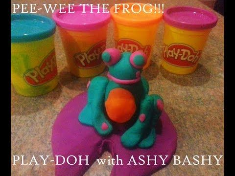 DIY WITH ASHY BASHY ( Episode 2 ) PLAY-DOH FUN!! PEE WEE the FROG