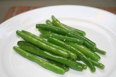 Din Tai Fung style Garlic Green Beans