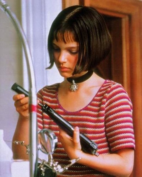 Natalie Portman as Mathilda in Leon