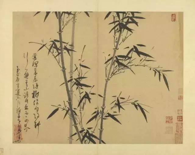 《墨竹譜》71歲吳鎮用畢生功力為兒子繪製的教科書