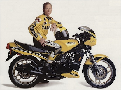 Kenny Roberts. 3 time world champion, Grand slam winner, changed roadracing forever!