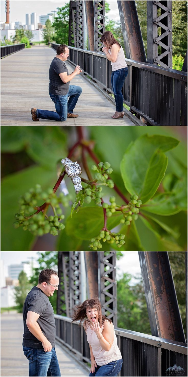 Surprise Proposal | Engaged | Diamond Ring | Enjoy Today Photography