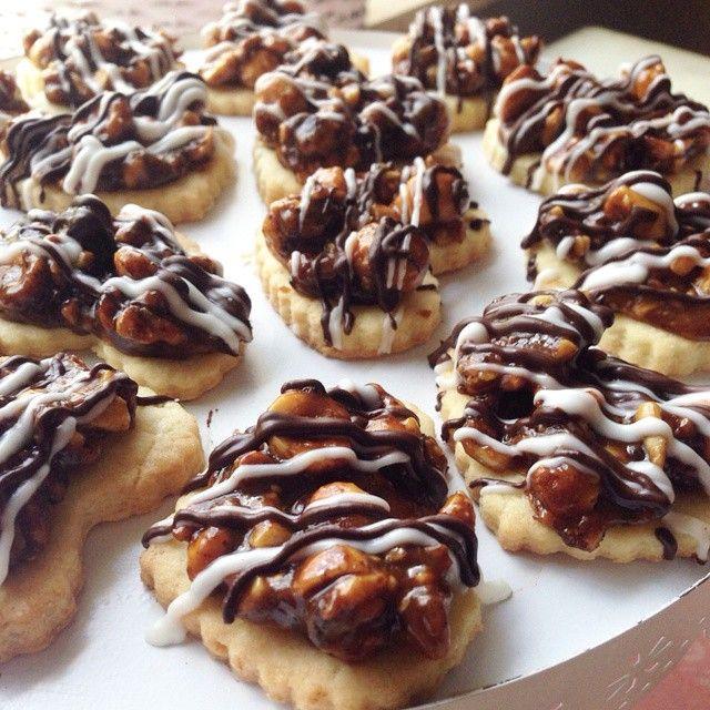Findikli karamelli kurabiyeler