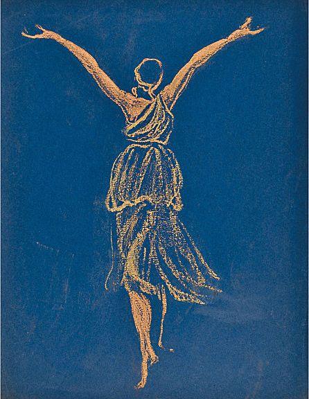 Isadora Duncan Danse Encore au Musée Bourdelleby Antoine Bourdelle