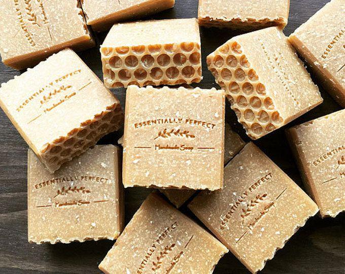 Handmade Soap - Honey & Oatmeal