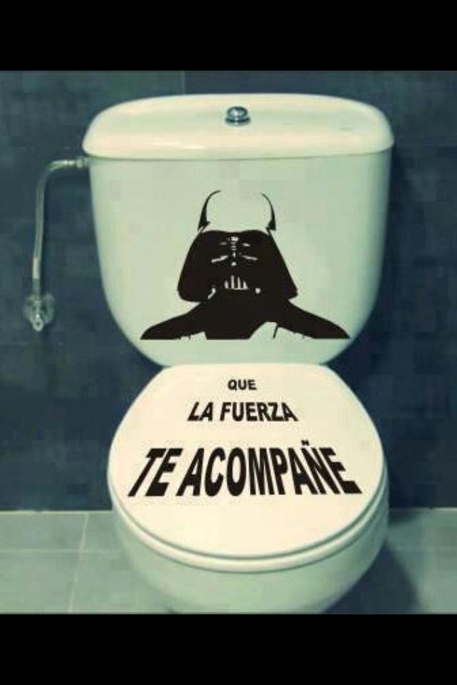 Mi baño humor en español.