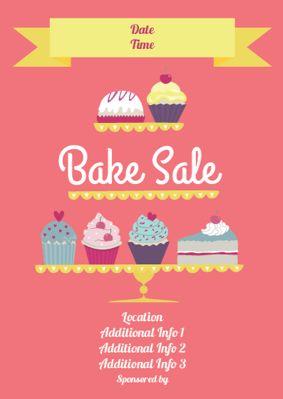17 Best images about Bake sale on Pinterest   Bake sale flyer ...