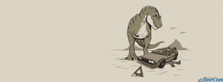 funny dinosaur 5 facebook cover