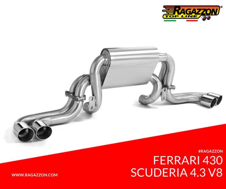 Ragazzon Exhaust: Ferrari F430 Scuderia 4.3 V8