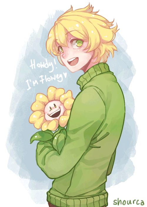 I'm Flowey! Flowey the Flower ;P ♥
