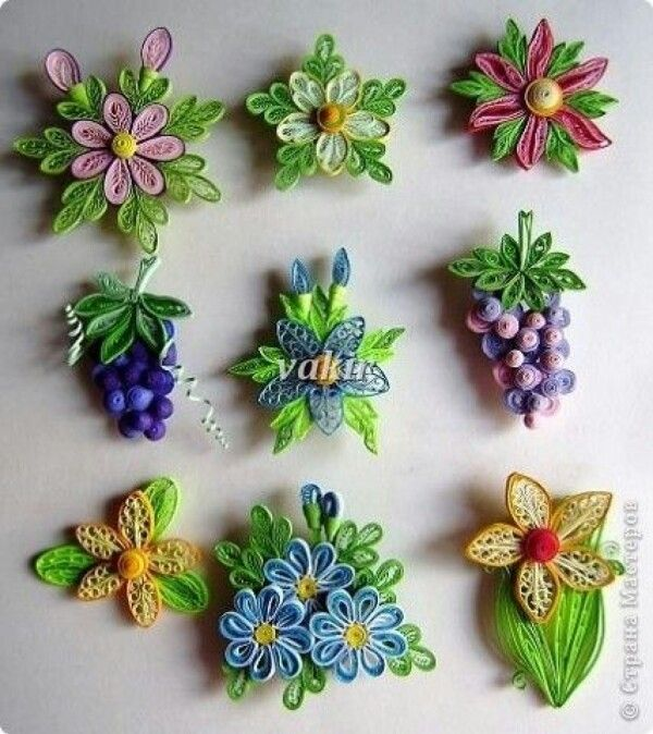 Bellas todo papel pinterest quilling and paper quilling for Quilling patterns for beginners