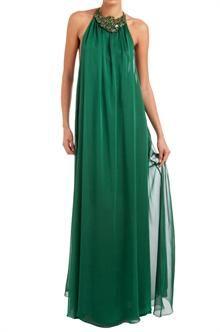 Vestido largo de fiesta . Modelo CATHY - ETXART&PANNO
