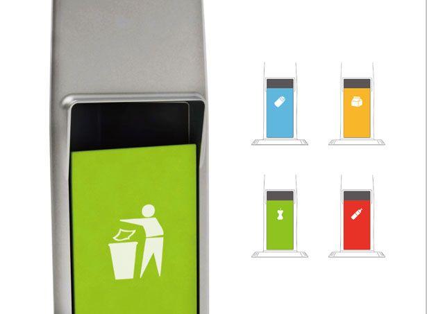 City Context Street Light and Trash Bin Design