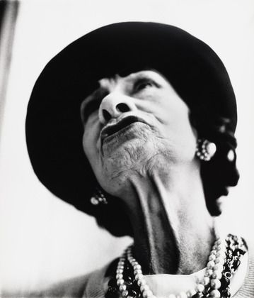 Coco Chanel by Richard Avedon