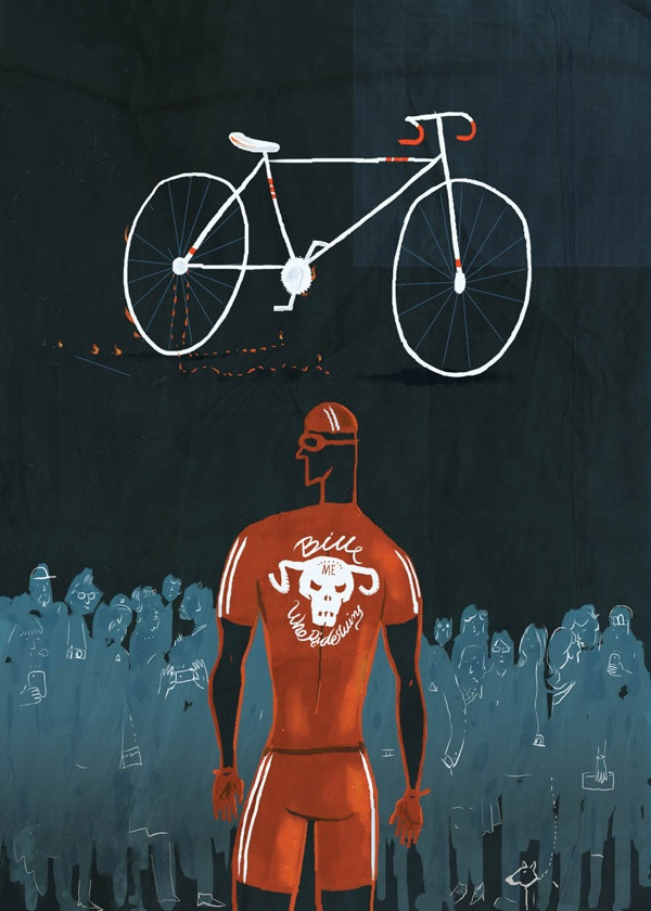 Bikeart by Yiannis Stilos, via Behance
