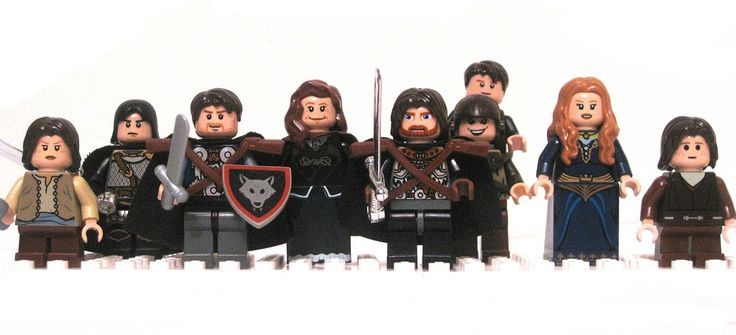 Game of Thrones Legos!