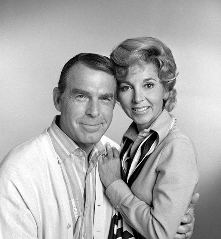 Fred MacMurray and Beverly Garland on TV's My Three Sons