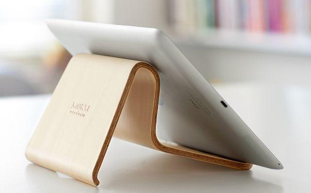 Support ordinateur portable design et ergonomique en bois - #Design - Visit the website to see all photos http://www.arkko.fr/support-ordinateur-portable-design-et-ergonomique-en-bois/