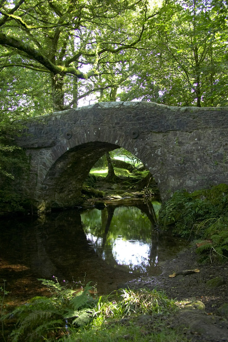 Stone bridge in Dartmoor, Devon