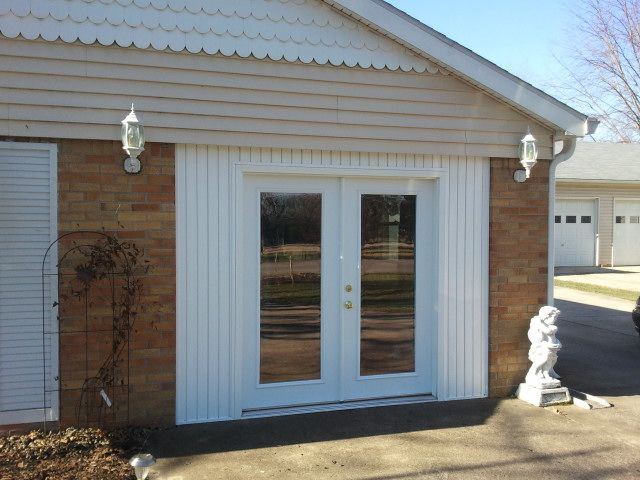 Garage Door Conversion