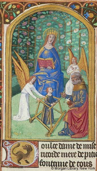 Book of Hours, MS G.4 fol. 140v - Images from Medieval and Renaissance Manuscripts - The Morgan Library & Museum: