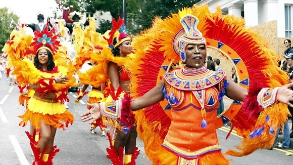 London hosts Europe's biggest street festival Notting Hill Carnival - ITV News