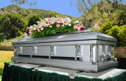 Casket Royalty Free Stock Images