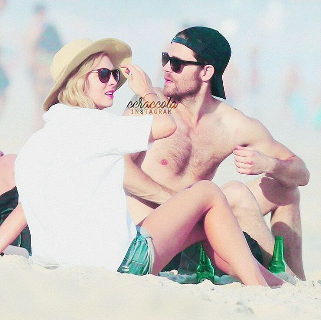 Wescola at the beach in Brazil 😻shirtless Paul💦*ccraccola edit  they are perfect god!