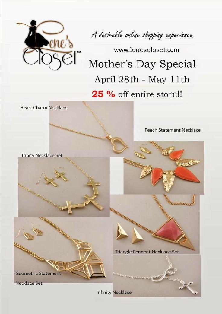 Lene's Closet: Mother's Day Sale