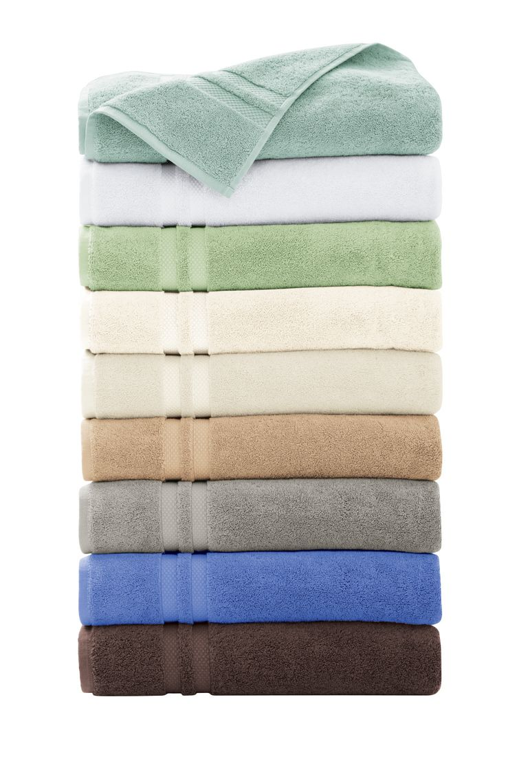 Large, absorbent and heavy-weight towels. HomeDecorators.com