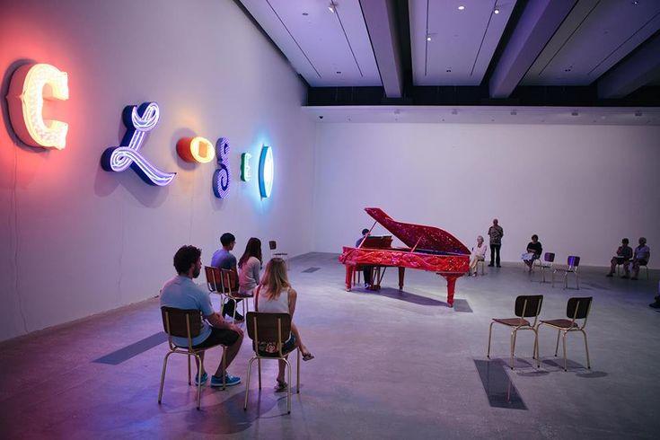 Michael Parekowhai's carved Steinway concert piano | Brisbane Art