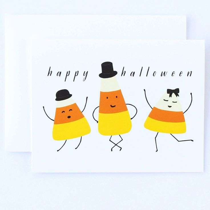 halloween card messages examples