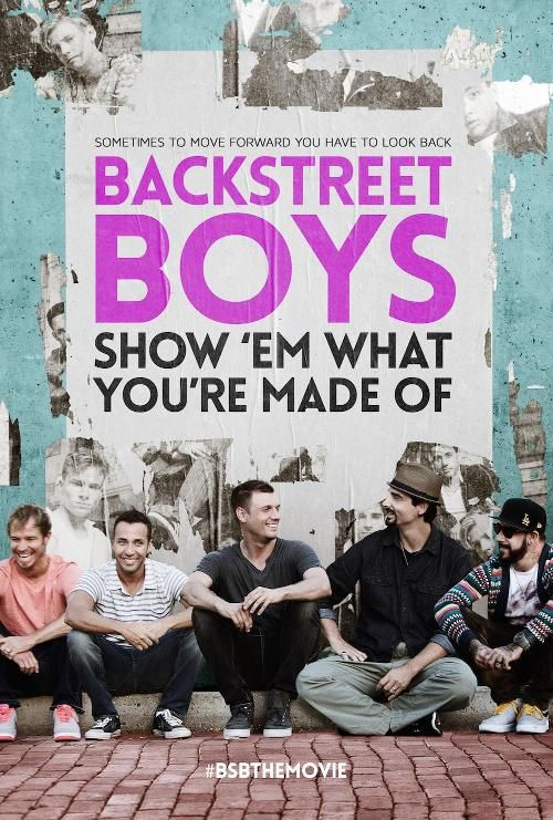 Backstreet's Back Alright (Again), See Exclusive Poster for Their New Doc (I saw an advance screening...AMAZING!!!!) :') <3 <3 <3