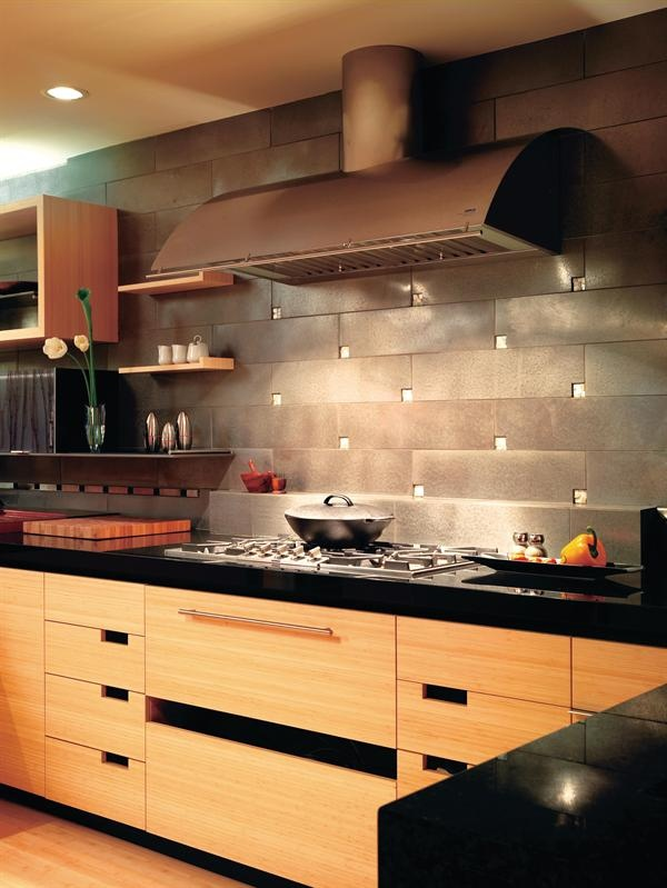 Zephyr Stainless Okeanito Hood, Cheng Collection. Project: Zuckerman Kitchen,  San Francisco; Part 78