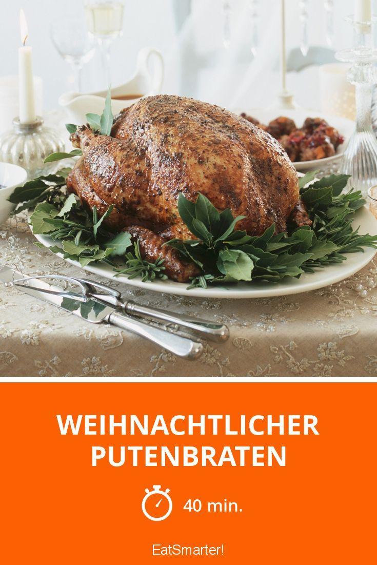 Weihnachtlicher Putenbraten - smarter - Zeit: 40 Min. | eatsmarter.de