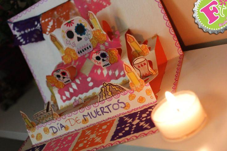 Crea tu mini Altar de Muertos PopUp