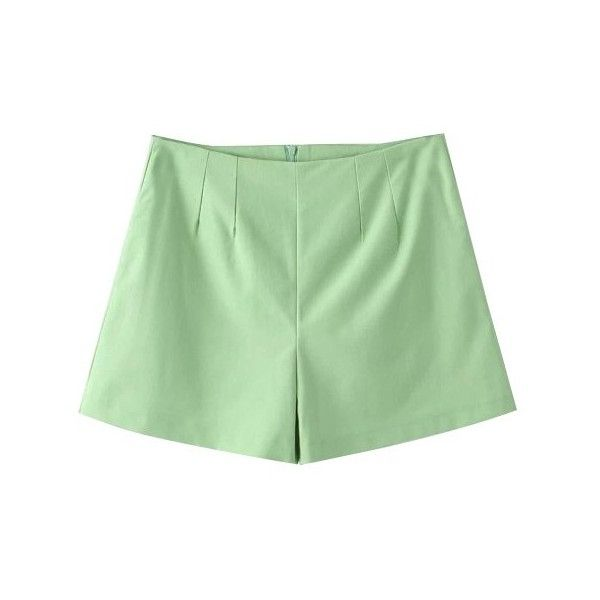 LUCLUC Lime Green Candy Color Shorts (427.085 VND) ❤ liked on Polyvore featuring shorts, bottoms, lucluc, short, lime green shorts and short shorts
