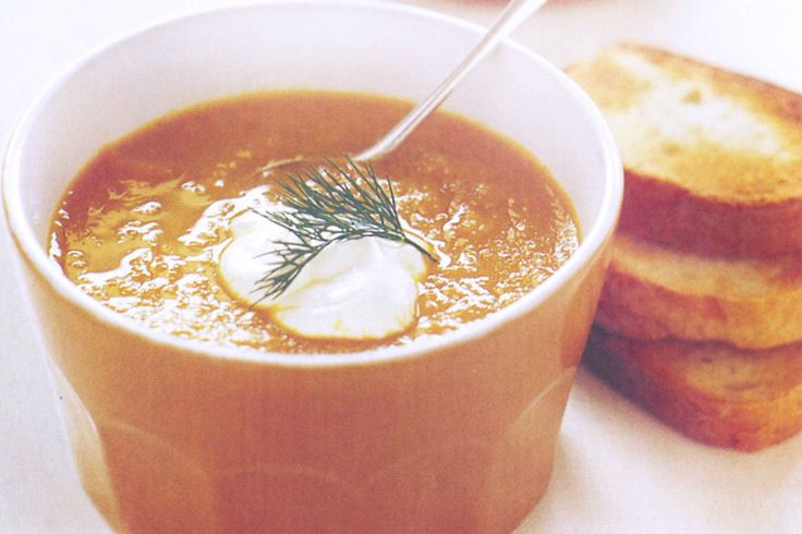 Carrot Soup Recipe - Taste.com.au