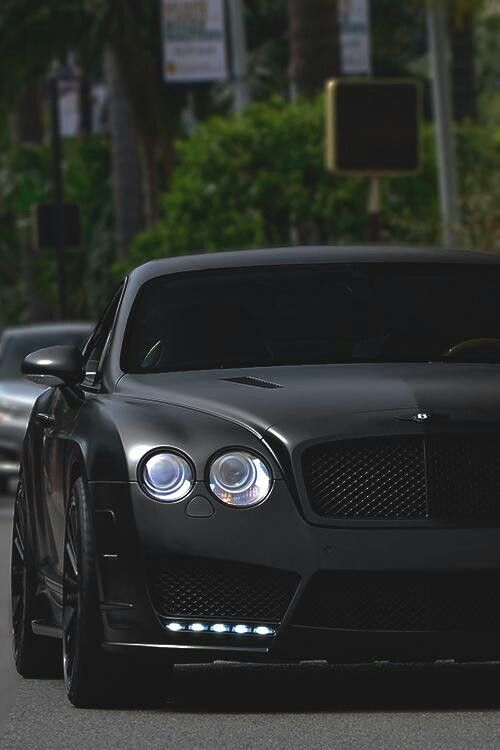 I love cars and my dream car is a all black Bentley. It is a nice car and I enjoy the seats, color and sound of the engine.