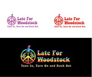 Late For Woodstock - Band Logo Logo Design by niko