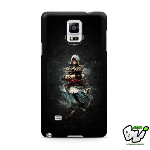 Assasins Creed Iv Black Flag Samsung Galaxy Note 4 Case